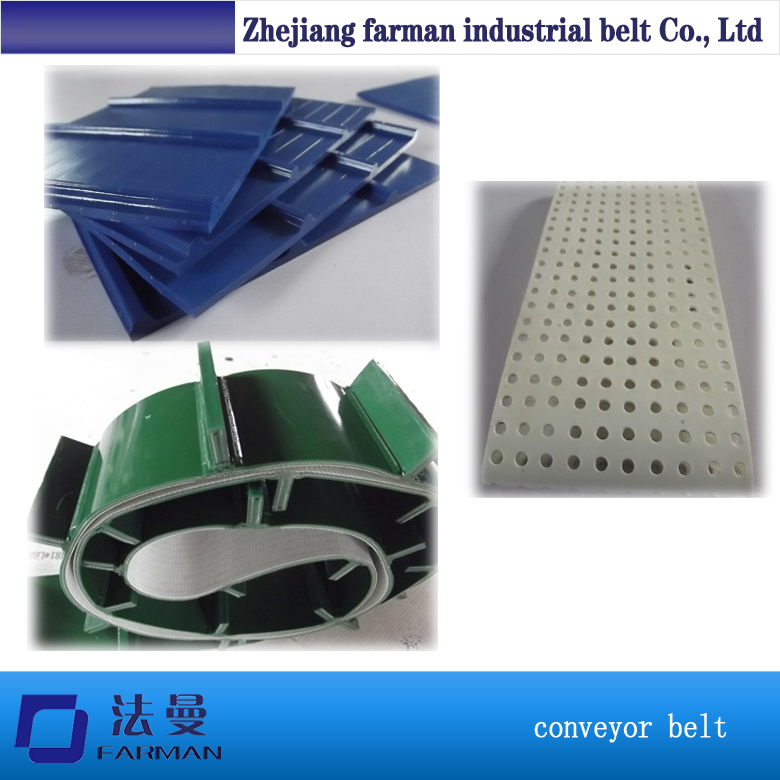 High Quality Pvc/pu/rubber Cleated / Food Grade /baffle Conveyor Belt Line