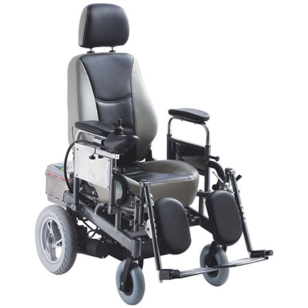 Travelling medical folding Power/ electric steel frame lightweight wheelchair model GT01121C