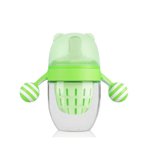 Hot Sale BPA Free Sippy Cup/baby training cup with handle/Kids Spill proof Drinking water cup