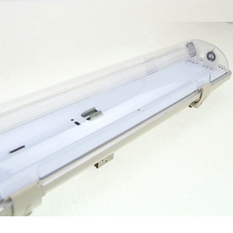 China wholesale 1200 ABS PS ip65 waterproof t8 2x36w flourescent lighting fixture