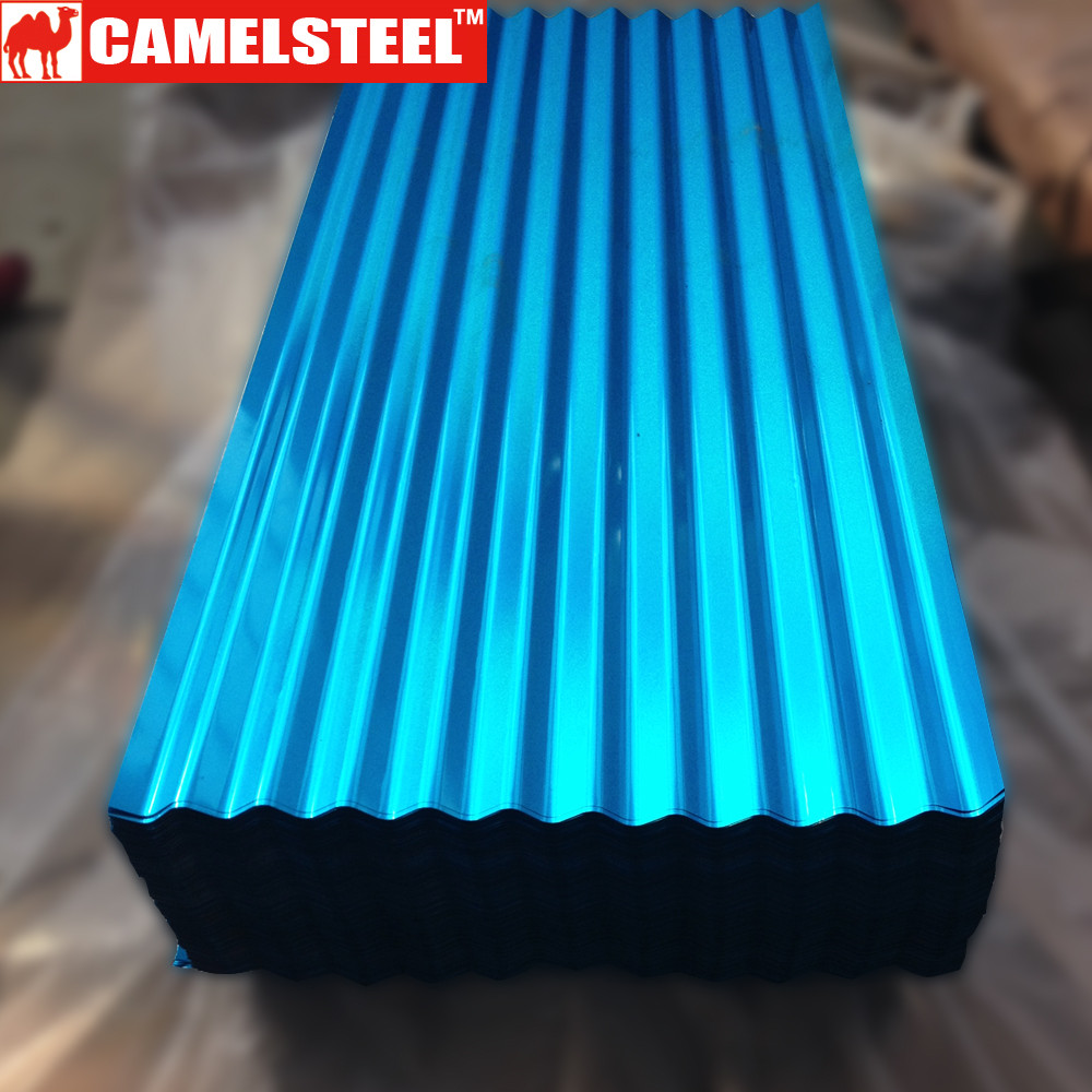 high quality color steelroof tile/color roof philippines/galvanized sheet metal price from Alibaba