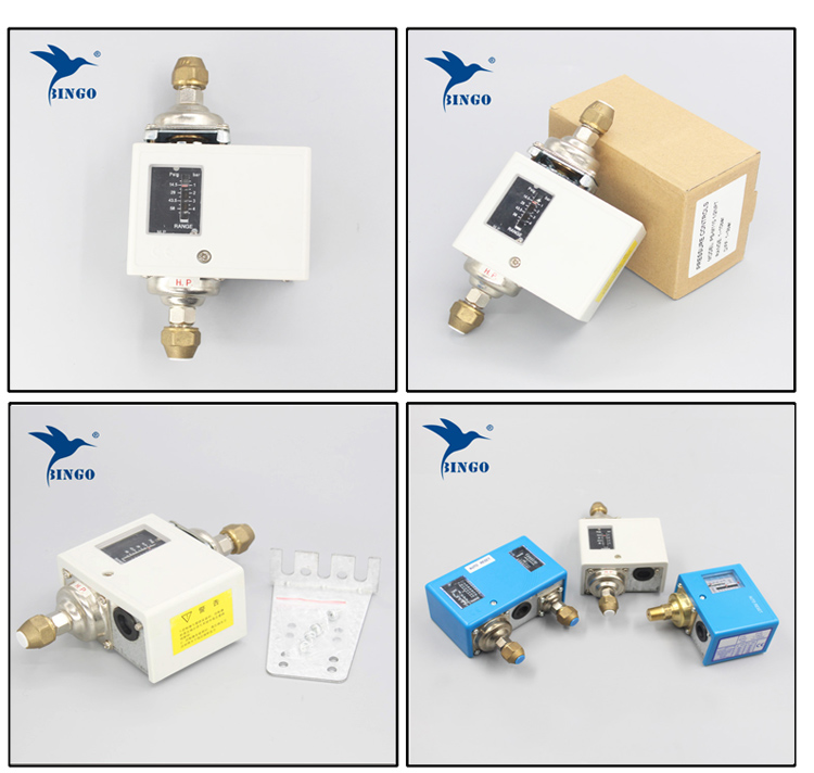 Differential pressure controller switch for refrigeration