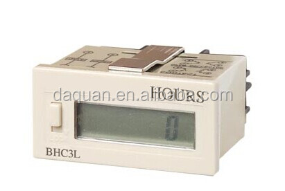 lcd hour meter digital hour meter BHC3L