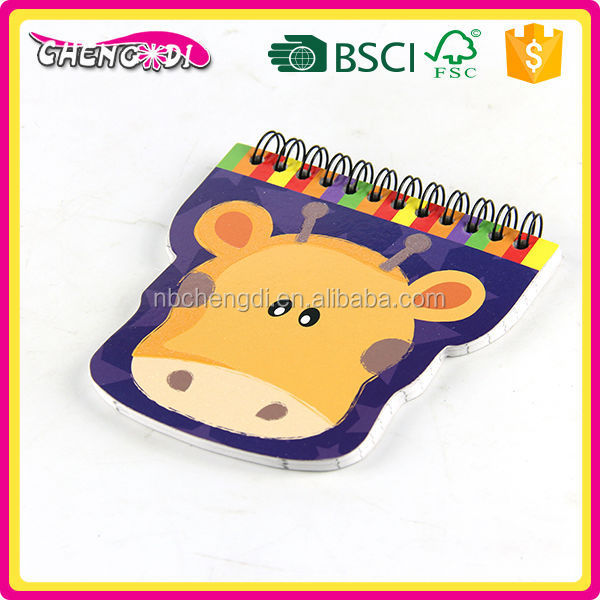 China supplyer custom spiral notebook for schools