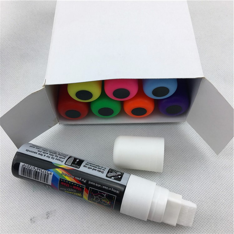 Wholesale Jumbo White Ink Liquid Chalkboard Whiteboard Blackboard Glass Marker