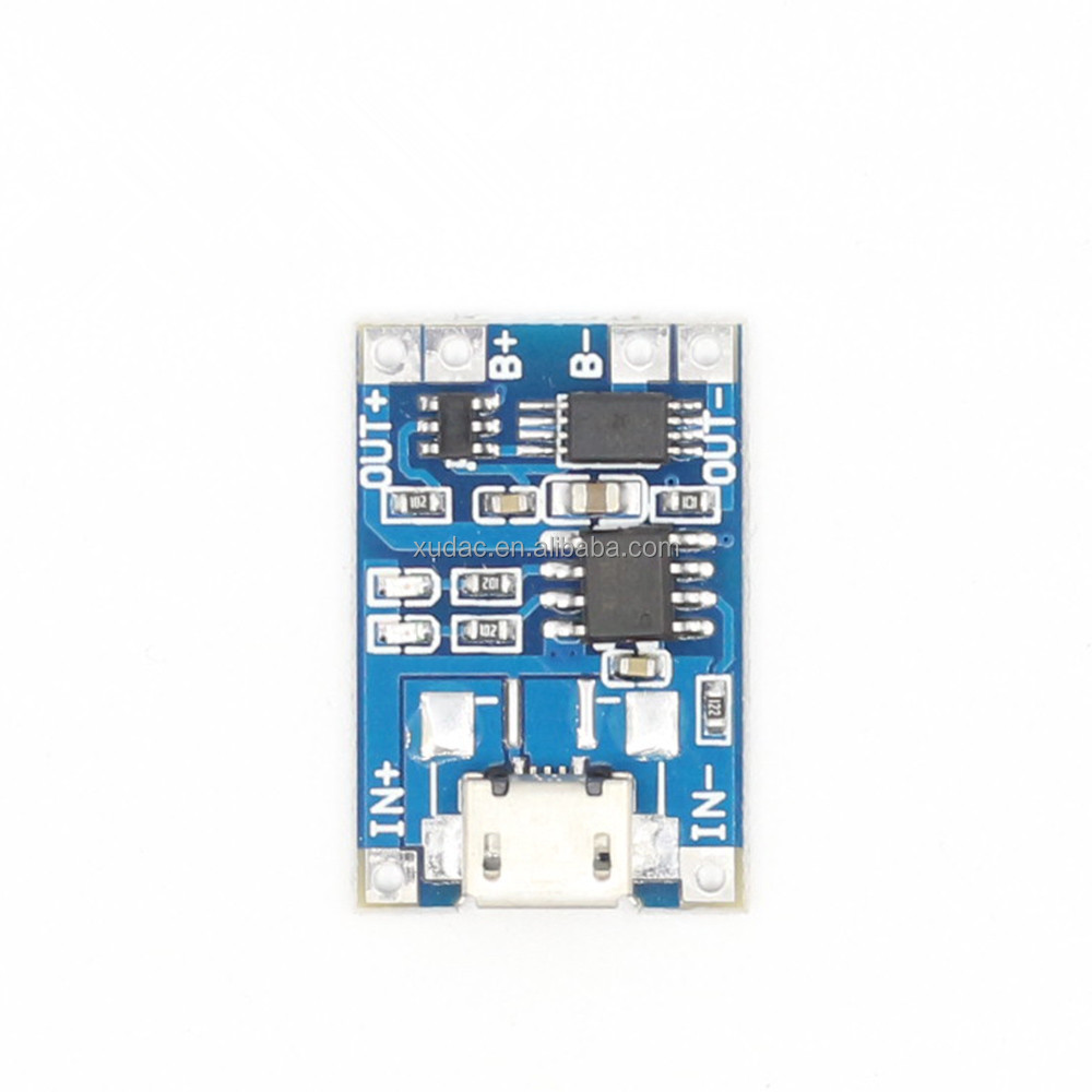 1a Lithium Battery Charging Board Charger Tp4056 Batteray 37v With Protection Suppliers And Manufacturers At