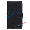 BRG- Luxury Book Style Wallet Stand Leather Case for Samsung Galaxy S4