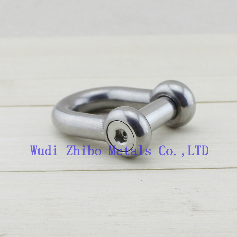5 x 12mm Bow Shackle A4 Stainless Steel AISI 316 Marine Boat Shackle Free P+P