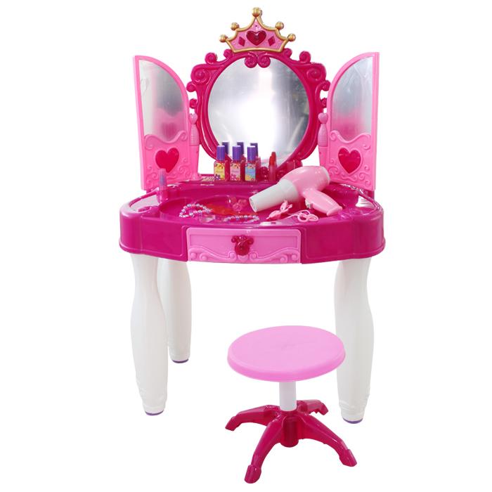 en plastique fille ouvrir la porte commode artificielle coiffeuse parent enfant jouet d. Black Bedroom Furniture Sets. Home Design Ideas