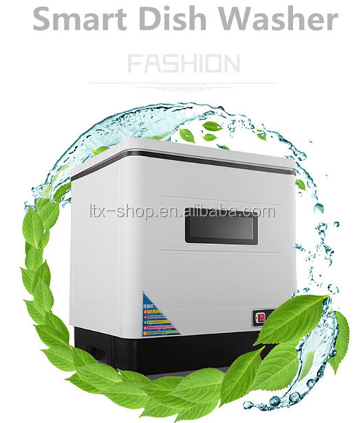 Factory Direct Wholesale Mini Full Automatic Household Dish Washer, Smart Mini Table Freestanding Electric Dish Washer
