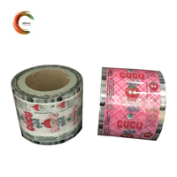 Durable food packaging plastic roll film for candy packing