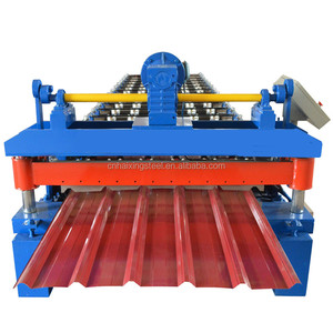 PBR twin high K rib 950 roof panel roll forming machine price