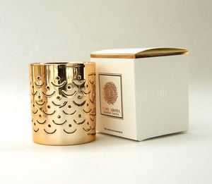 Fashion Design Wholesale Custom made luxury design soy wax scented candles