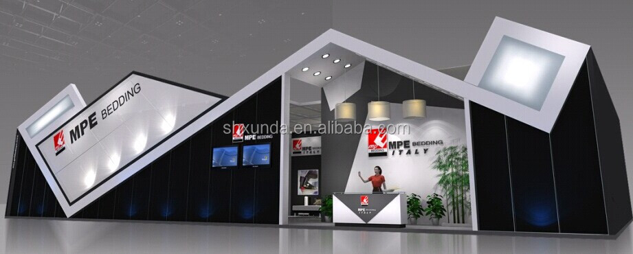 Modern Exhibition Stand Price : Clearance price modern style trade show stand wood&aluminum