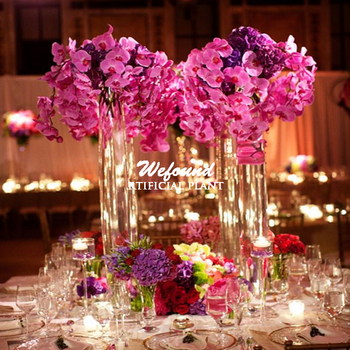 Pu Orchid Flowersreal Touch Orchidwedding Table Centerpiece Flower