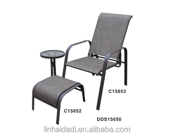 Superb Outdoor Steel Furniture Stacking Sling Chair With Ottoman Buy Sling Stacking Chair With Ottoman Stacking Chair Sling Stacking Chair Product On Download Free Architecture Designs Rallybritishbridgeorg