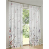 2018 new fancy design Wholesale Polyester printed window curtain