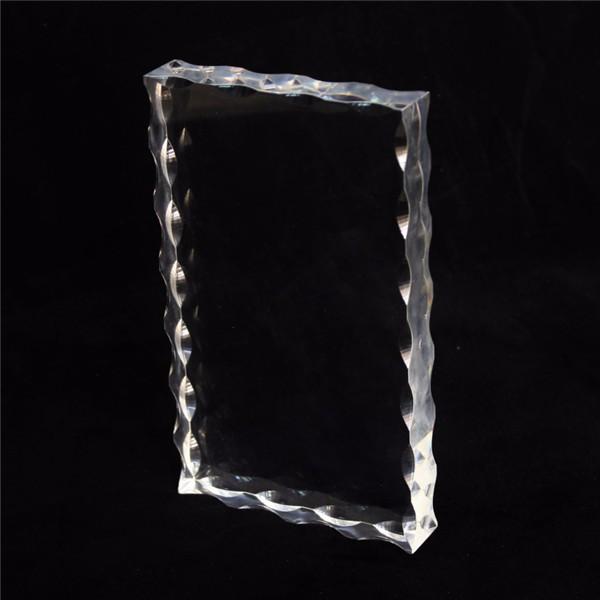 Custom Desktop Crystal Transparent Double Side Acrylic