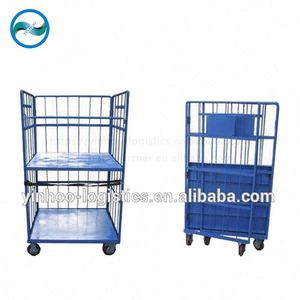 all size physical table trolley /cage trolley