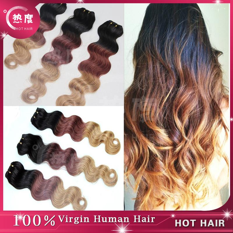 Tremendous Top 7A Grade Ombre Brazilian Human Hair Brazilian Body Wave Ombre Short Hairstyles Gunalazisus