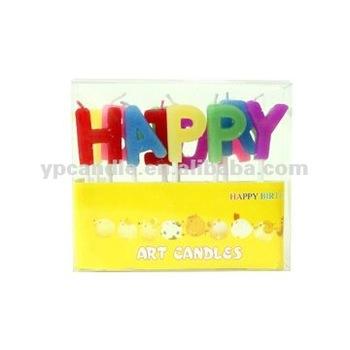 Gelukkige Verjaardag Engels Brief Kaars Op De Tandenstoker Buy Tandenstoker Brieven Kaarsgelukkige Verjaardag Brief Kaarstaart Decoratie Product