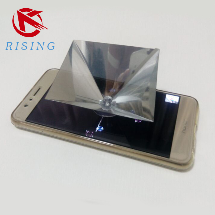 3d Hologram Pyramid Display Projector For Smartphone,Universal For  Ios,Android With Sucker - Buy 3d Hologram Projector,3d Hologram Pyramid  Product on