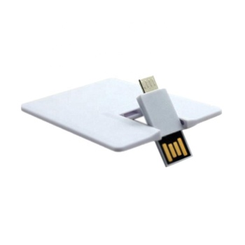 Wholesale Bulk Full Color Printing OTG Business Credit Card 8GB USB Memory Stick Flash Drive