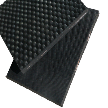 stable mat hammer top cow mat with nylon cloth