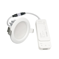 Hot Sale CE Waterproof IP65 Smart Zigbee Wifi Bluetooth Dimmable Recessed 9W LED Down Light for Hotel