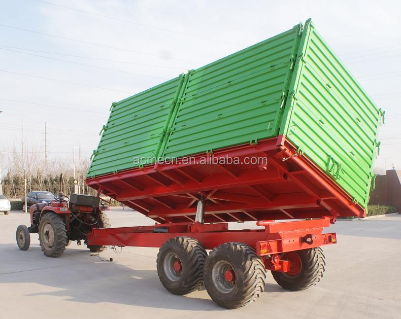 high hurdles trailer farm agricultural trailer for tractor