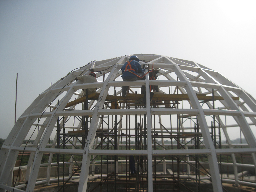 Galvanized Steel Dome Structure Metal Building Buy Metal