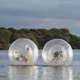 Exciting 2 person grass zorb ball with safety