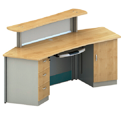 Awesome Office Counter Table,Melamine / Laminate Reception Table / Desk,Melamine Receptionist  Desk