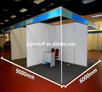 Exhibition Stand Shell Scheme : Double sided double opening outdoor & indoor exhibition booth shell