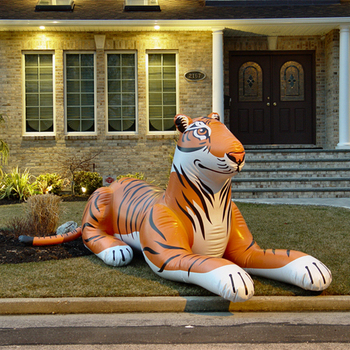 Commerical inflatable tigers for sale blowup lion inflatable decorations tiger giant