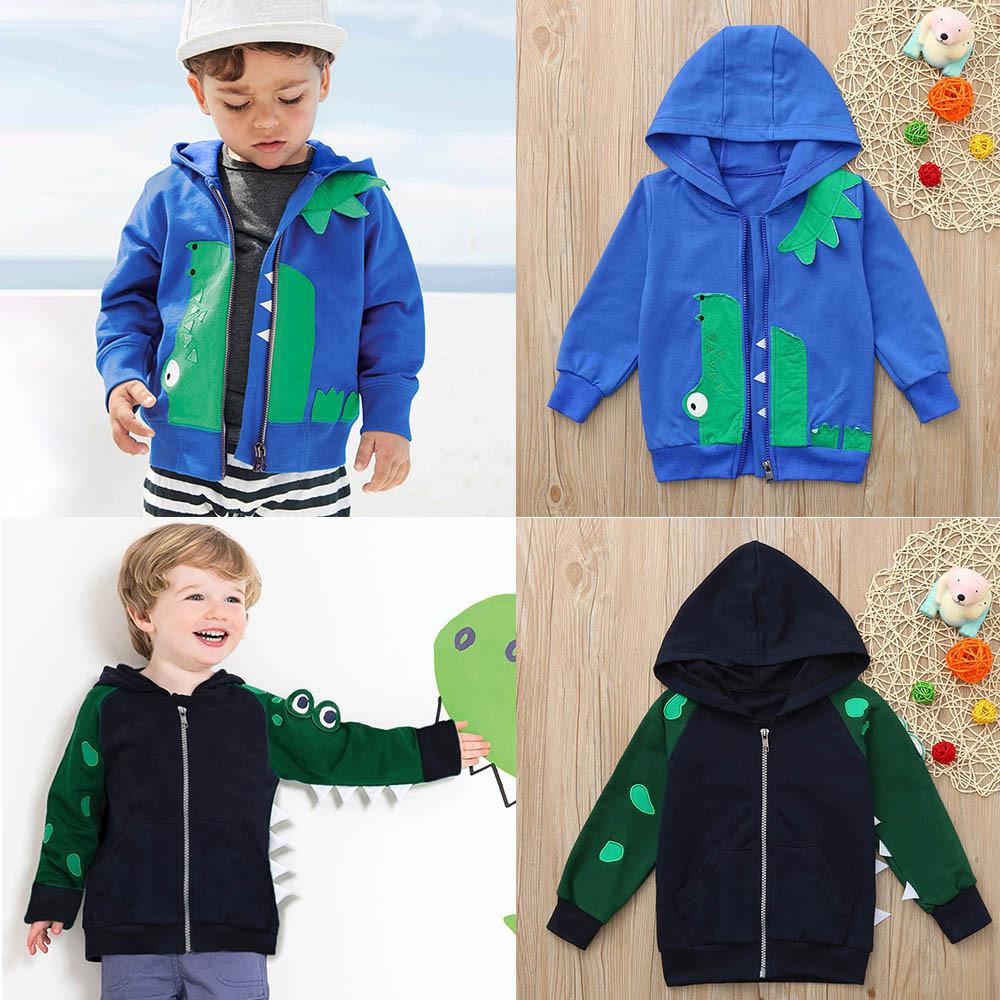 4a9f2d32ad1b Kids Baby Winter Cartoon Animal Coat Hooded Jacket Warm Outerwear ...
