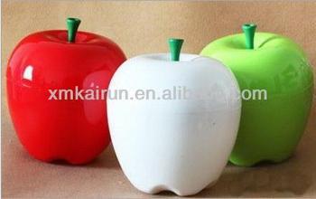 Superbe Apple Shape Storage Box Customized Color And Logo