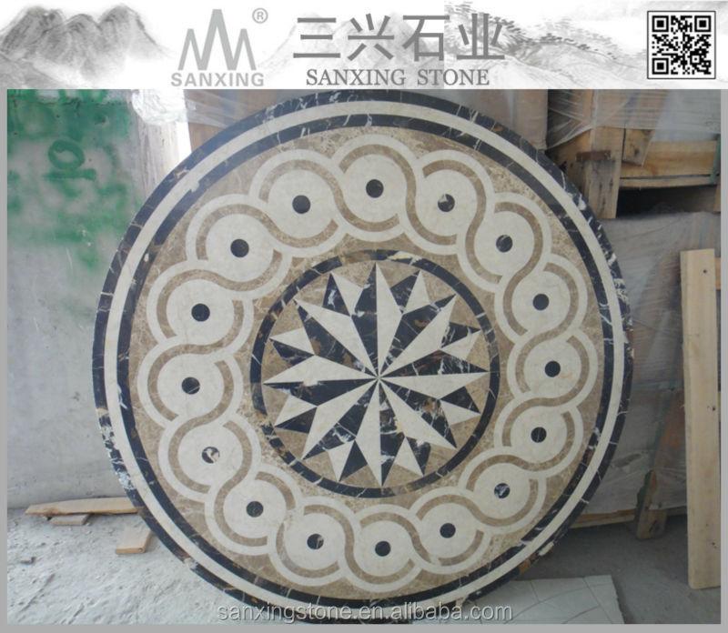 Jet d'eau naturel pierre hall marbre carreaux de revêtement de sol ...