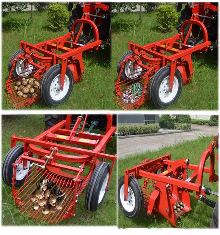Tractor Mounted Potato Harvester With Pto View Potato Harvester
