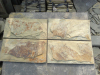 Hot sale natural slate tile, brown slate from factory