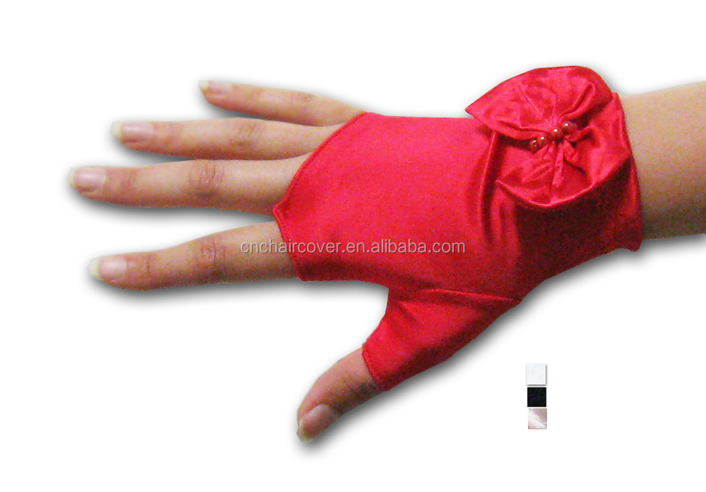 Full Long Satin Gloves Hand Gloves Manufacturers In China