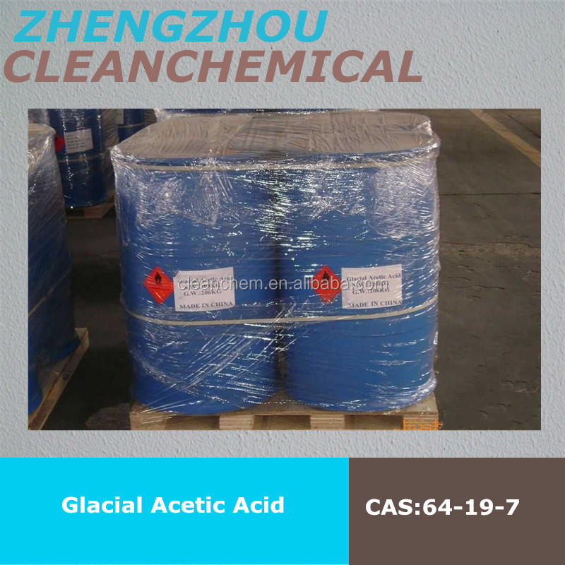 China Supplier Glacial Acetic Acid Price