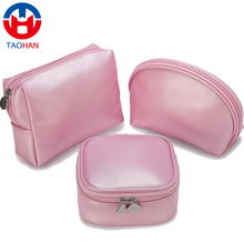 China supplier wholesale pvc cosmetic pouch custom makeup bag