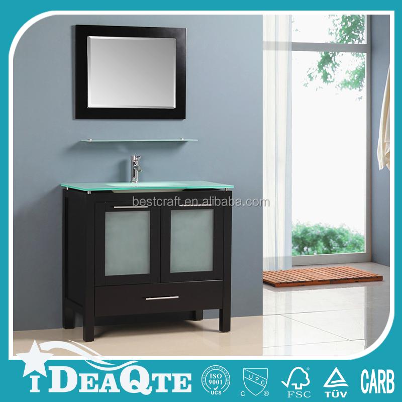 Muebles de ba o moderno gabinete de almacenamiento encima for Gabinete de almacenamiento de bano de madera