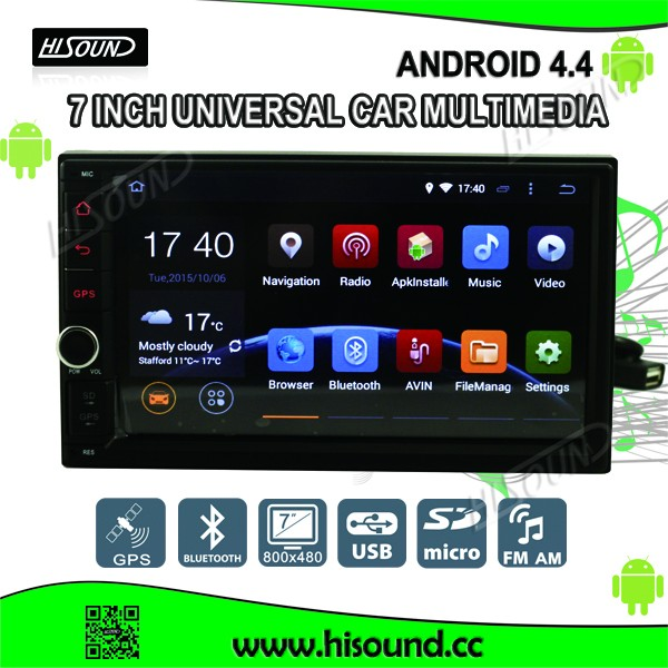 Newest 7inch touch screen 2 din android based car dvd player