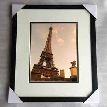 11x14 Inch Wooden Black Matted Picture Frame Wholesale Buy Black