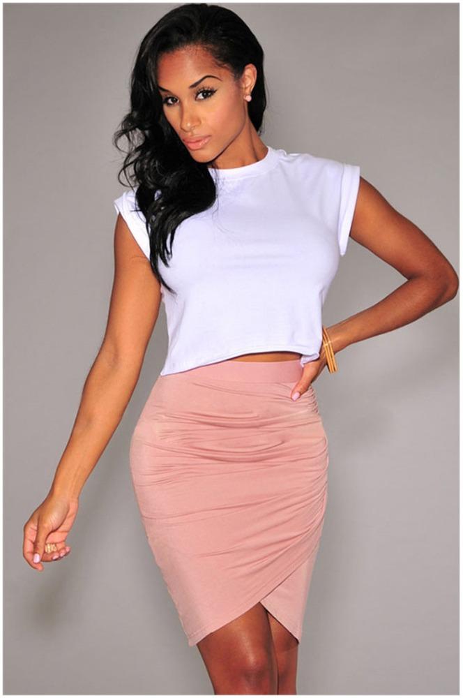 Hot Girl With Skirt