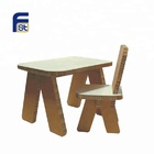 foldable cardboard paper furniture model