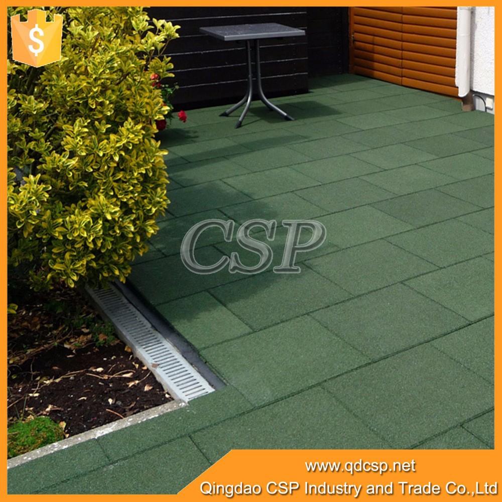 Campo da giochi esterno pavimentazione in gomma per parco giochi, tappetino in gomma, pavimento ...