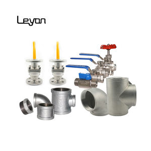 irrigation valve stainless steel 304 ball valves flange valve and pipe fittings elboew tee galvanized iso9001 malleable bushing